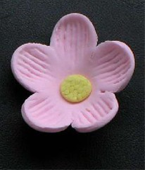 Small Blossom No wire Pink 3cm (sweetinspirationsaustralia) Tags: cupcaketoppers