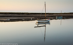 Boat at Burnham Overy Staithe, Norfolk (Derwood Photography) Tags: nikonflickraward