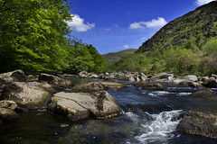 Welsh Summer (Alchimi) Tags: summer sky mountain wales river snowdonia alchimiae