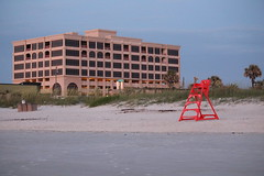 Sunrise at Jacksonville Beach (redstick94) Tags: architecture florida lifeguard beaches jacksonville thebeach lifeguardstation jacksonvillebeachfl