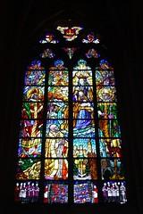 Kirchenfenster I (   flickrsprotte  ) Tags: kathedrale lige belgien lttich flickrsprotte bischhofskirche gotischebasilika