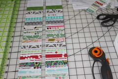 Selvage tutorial pic 11 (B's Modern Quilting) Tags: quilt machine fabric zipper tutorial wristlet selvage