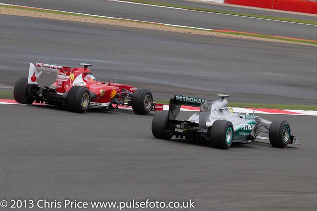 Fernando Alonso & Nico Rosberg