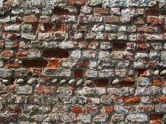 Deal (Dubris) Tags: england brick wall kent pebble deal