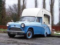 Austin Catering Van (roger.w800) Tags: old austin yorkshire 1950s oldcar icecreamvan heartbeat oldvan burgervan a55
