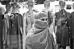 Shopping for eid? (A. adnan) Tags: woman shopping mannequins muslim islam hijab niqab ramadan bangladesh x100 eidulfitr