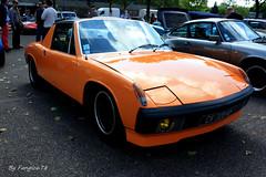 Porsche 914 (fangio678) Tags: classic cars parking voiture racing collection strasbourg 02 coche porsche oldtimer 06 ancienne 914 youngtimer voituresanciennes allemande 2013 retrorencard