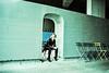 Liana Faye (Rubin Starset) Tags: newyork color film 35mm iso100 us crossprocessed unitedstates kodak slide slidefilm ektachrome lowermanhattan highline colorslide e100sw colorslidefilm film:brand=kodak film:iso=100 film:format=35mm film:type=colorslide film:processnotes=crossprocessed lianalareau film:tag=e100sw