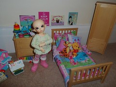 Ante loves her new bedroom (Princess Stitch) Tags: bedroom kawaii bjd fairyland ante littlefee
