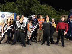 Sky Fest, Sky Sox Star Trek night