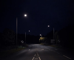 Road to nowhere... (Dan Parratt) Tags: street nightphotography light night streetlight empty alton roadotnowhere