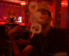 Smoking Hoops (Snappy Saffs) Tags: manchester shisha posing smoking hoops sheesha sheehs