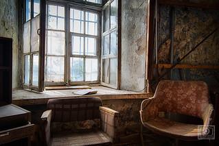 the cozy reading corner