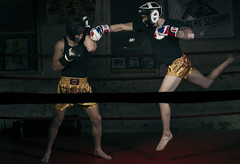 Superman! (Kien Tran.) Tags: portrait sports dark intense action dramatic diablo athlete sparring muaythai sportsphotography ttktizzle kientranphoto