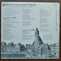 "Backside Bach - Kantaten BWV 56 ""Kreuzstab"" & BWV 82 ""Ich habe genug""- Hermann Prey Bass, Hannes Kastner Orgel Organ Orgue, Siegfried Arnold Violon Cello, Heinz Morawietz Bass, Willy Gerlach Oboe, Thomaner Chor, Gewandhaus Orch. Leipzig, Thomaskantor Kurt (Piano Piano!) Tags: art cover lp sleeve hoes 12inch plaat thomanerchor langspeelplaat gewandhausorchleipzig recordcollectionlpclassical12inch albumdisque bachkantatenbwv56kreuzstabbwv82ichhabegenughermannpreybass hanneskastnerorgelorganorgue thomaskantorkurtthomas hmvelectrolae80572 wclp658 siegfriedarnoldvioloncello heinzmorawietzbass willygerlachoboe coverarthoeshulle12inch discdisquerecordalbumlplangspeelplaatgramophoneschallplattevynilvinyl"
