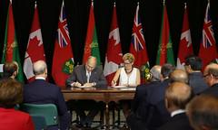 L'Ontario signe un accord de coopération avec l'imamat ismaélien