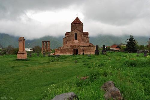 Odzun Cathedral. 4-6th century. Lori, Armenia.