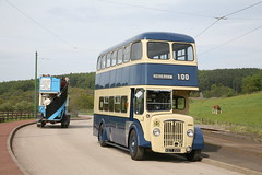 Rotherham Corporation CVG6 Daimler double decker KET 220 (Beamish Museum) Tags: bus transport daimler beamishmuseum