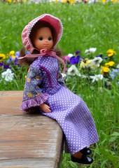 Sara Jane Benson (Emily-Noiret) Tags: summer sunshine vintage star spring sara dolls jane benson mattel spangled