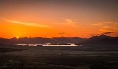 Loch Lomond (GenerationX) Tags: sunset mountains water alexandria landscape evening scotland nationalpark haze unitedkingdom dusk scottish neil hills fields rays benlomond trossachs balloch lochlomond cobbler barr lastlight kilpatrick auchineden whangie duncryne queensview inchcailloch arrocharalps gartocharn inchconnachan inchlonaig benvane inchmurrin