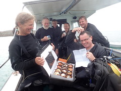 happy birthday prof david kippers (richie rocket) Tags: scillies seasearch scillyisles cornwall uk
