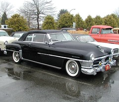 Chrysler Crown Imperial convertible 1951 (D70) Tags: olympus digital camera vintage cars boxing day 2000 planetarium parking lot vancouver bc canada chrysler 1951 convertible crown imperial