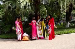 Bright dresses (program monkey) Tags: oldquarter colorful vietnam hanoi