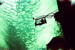 L'Ami Schutz (Markus Moning) Tags: strasbourg alsacechampagneardennelorrain frankreich alsacechampagneardennelorraine fr markusmoning moning alsace elsass france lomo lca lc lomography 35mm film analog xpro cross processing agfa ct precisa 100 expired processed process strassburg lami schutz ami sign schild bierstub sky himmel cloud clouds wolke wolken
