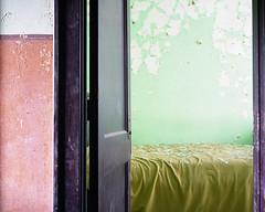 (.tom troutman.) Tags: mamiya 7 film analog 120 mediumformat kodak portra 400 50mm abandoned hotel wv 6x7