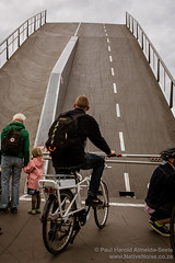 Road to the Clouds (NativePaul) Tags: bicycle bridge christianshavn clouds copenhagen cycling cyclist dk danish denmark europe holiday raisedbridge road scandinavia sky travel up vacation