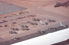 New Arrivals (Al Henderson) Tags: a10 storage generaldynamics sms boneyard amarc tucson davismonthanafb usaf arrivals fairchild southmaintenanceshelter military f16 arizona s3 lockheed c141 aviation unitedstates us