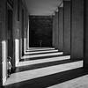 Peekaboo (attilio.pirino) Tags: colonnade shadows perspective colonnato ombre bambino prospettiva child