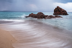 Softness (fredMin) Tags: long exposure rocks beach cannes fuji fujifilm xt1 fujinon 1655 france