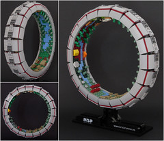 Stanford torus (MSP!) Tags: lego space station design habitat stanford torus rotating wheel microspacetopia