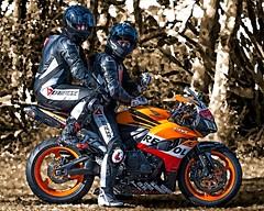 Honda (driver Photographer) Tags:   aprilia cagiva honda kawasaki husqvarna ktm simson suzuki yamaha ducati daytona buell motoguzzi triumph bmv driver motorcycle leathers dainese