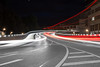 Grünwinkler Brücke (bomme) Tags: auto brücke grünwinklerbrücke karlsruhe langebelichtung licht lichtspuren nacht strase verkehr