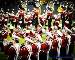 Fall into Winter - Equinox to Solstice #49 - Band (elviskennedy) Tags: 2490 badgers band baritone brass camera concert elmarit elvis elviskennedy football greenbaypackers hat hats instrument kennedy lambeau lambeaufield leica leicacamera leicasl march marching marchingband music musician nfl onwisconsin packers play playing red solo song student trombone trumpet tuba uniform universityofwisconsin uw wi wisconsin wwwelviskennedycom greenbay unitedstates us