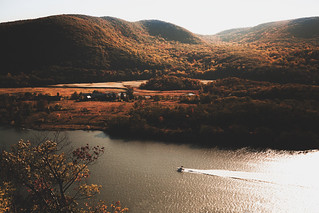 View atop Bear Mountain, NY.
