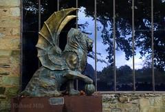 France - October 2016 (Richard Mills) Tags: winged wingedlion lion statue