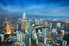Kuala Lumpur city (Patrick Foto ;)) Tags: architecture ariel asia asian blue building built business capital center city cityscape commercial construction corporate district downtown dusk exterior famous financial garden kl klcc kuala landmark lumpur malaysia menara modern national night office petronas place scene sky skyline skyscraper structure tall tower towers travel twilight twin urban view kualalumpur wilayahpersekutuankualalumpur my