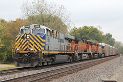CREX 1206 (CC 8039) Tags: crex bnsf kcs trains es44ac c449w ac44cw palisades park savanna illinois