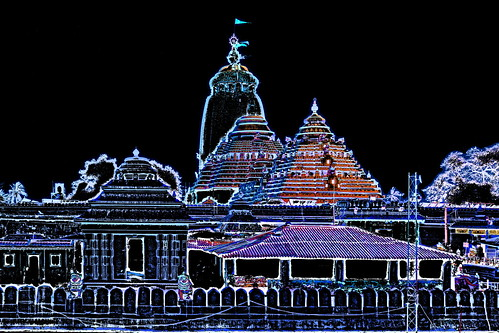 India - Odisha - Puri - Jagannath Temple - 1b