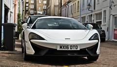 McLaren 570s (Jack de Gier) Tags: mclaren 570s coupe london uk mews rental supercar sportscar worldcar white exotic horsepower londen knightsbridge