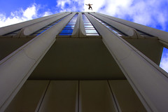A Fall Falling (swong95765) Tags: fall falling guy man building perspective skyscrapper tall architecture
