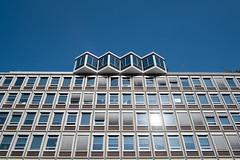 Study - II (photosam) Tags: amsterdam noordholland netherlands fujifilm xe1 fujifilmx prime raw lightroom xf18mm12r xf18mmf2r architecture modernist wideangle summer