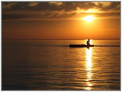 what a wonderful world... (kurtwolf303) Tags: sonnenuntergang meer ozean ocean nordsee northsea sky himmel orange clouds wolken sun sonne wasser water fotorahmen frame outdoor boat boot person olympusem1 omd microfourthirds micro43 systemcamera backlight sundown dusk color unlimitedphotos gegenlichtaufnahme 250v10f topf25 mirrorlesscamera spiegellos fhr insel island germany norddeutschland schleswigholstein topf50 topf75 500v20f 750views 800views topf100 900views