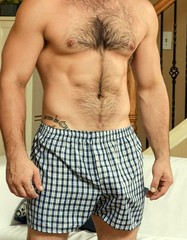 Love a guy in boxers... (mike--123) Tags: boxers dilf beefcake
