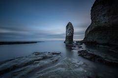 Monolith (Justin Cameron) Tags: lee longexposure selwicksbay coastline flamboroughhead neutraldensity le leegraduatedfilter water ndfilter sky canon5dmkiii canon coast leebigstopper rocks