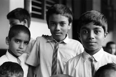 Portrait (Riverman___) Tags: india film minolta x700 rokkor 50mm f17 ilfordhp5 kodagu portrait people school