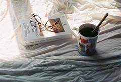 morning sun (betulvargun) Tags: coffee tea cozy agfavista filmisnotdead filmphotography